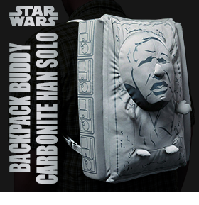 STAR WARS CARBONITE HAN SOLO BACKPACK BUDDY