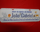 Placa João Gabriel