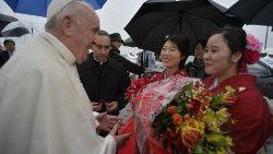 El Papa Francisco visitó  Nagasaki el 24 de noviembre 2019 durante su Viaje Apostólico a Tailandia y Japón.