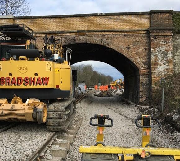 VIDEO: Landmark step on Midland Main Line Upgrade takes place