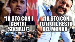De Magistris e Salvini