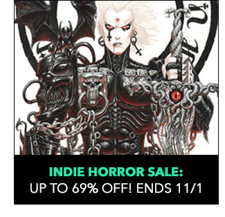 Indie Horror Sale: up to 69% off! Sale ends 11/1.