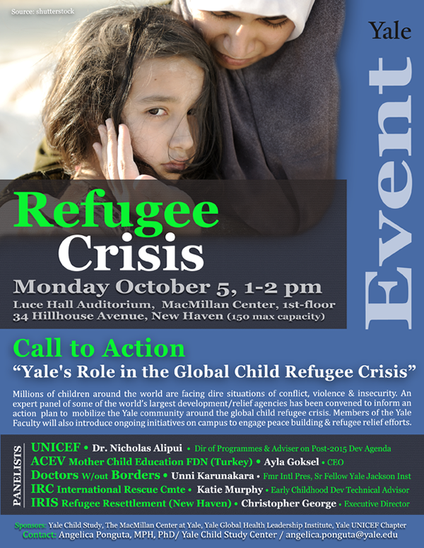 Yale's Role in the Global Child Refugee Crisis