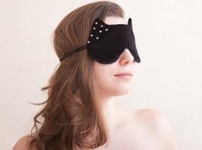 Cat Sleep Mask with the Stars