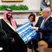 President Trump discussing weapons sales this week with Crown Prince Mohammed bin Salman of Saudi Arabia, which is leading a bombing campaign in Yemen that has been criticized by human rights groups.