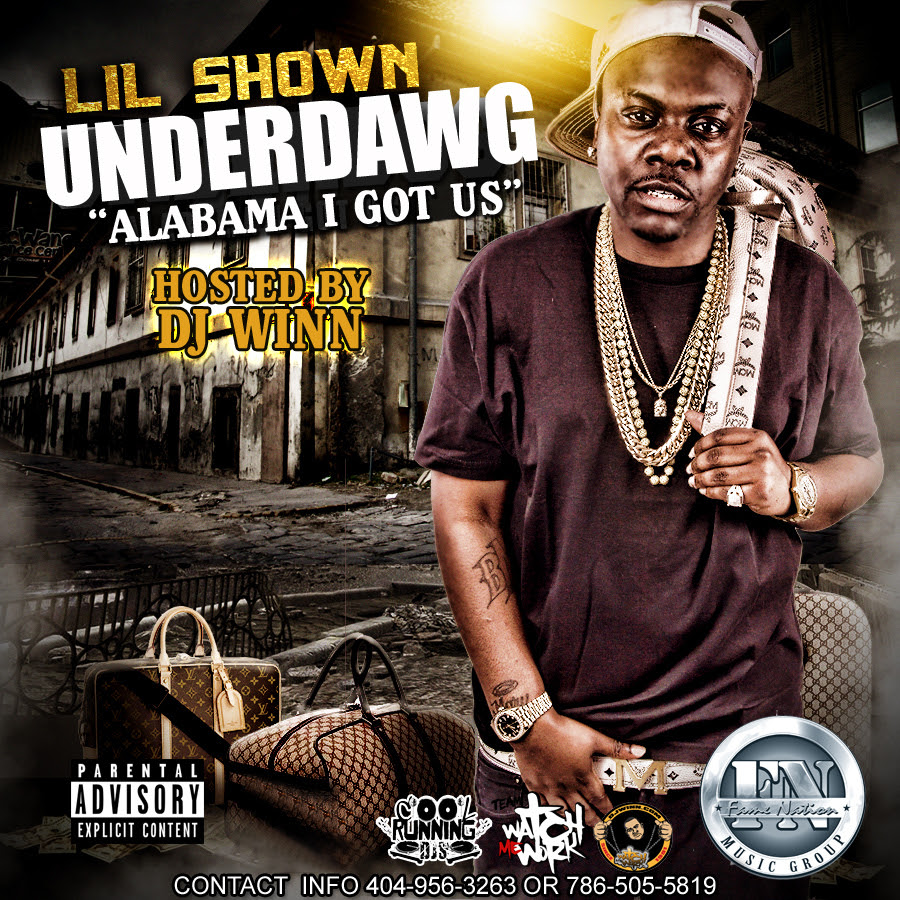 1 lil shown underdog CD