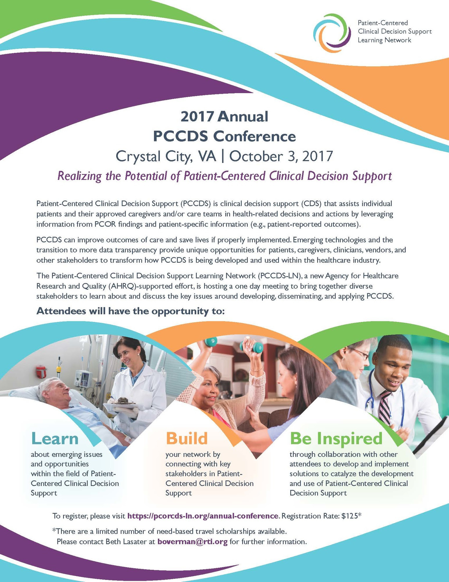 PCOR CDS Annual Conference Flier