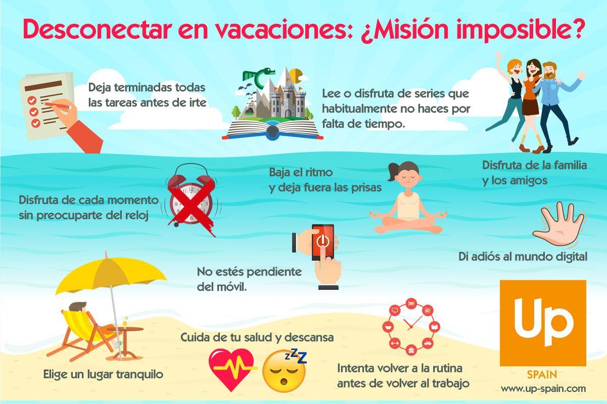 Infografía vacaciones