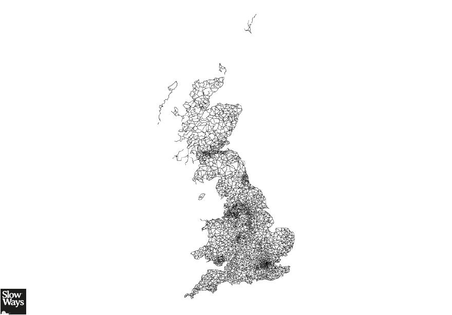 Slow Ways map