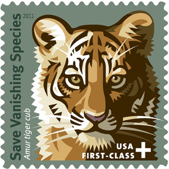 Save Vanishing Species postal stamp