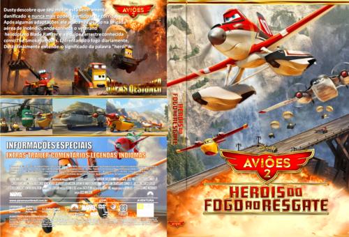 Aviões 2 Heróis do Fogo AO Resgate Torrent BDRip Dual Audio (2014)
