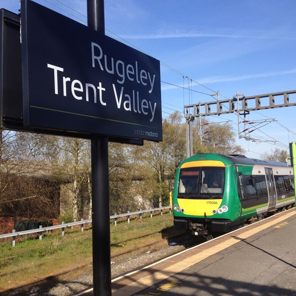 Passengers reminded that 16 day railway closure between Rugeley Trent Valley and Walsall starts this Sunday