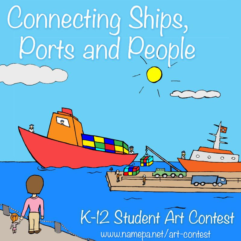 NAMEPA Art Contest Connecting Ships Ports and People