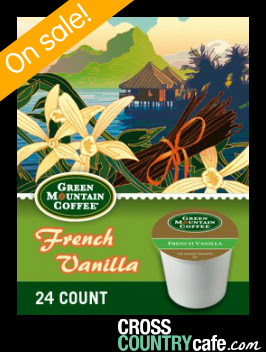 Green Mountain French Vanilla Keurig Kcup coffee