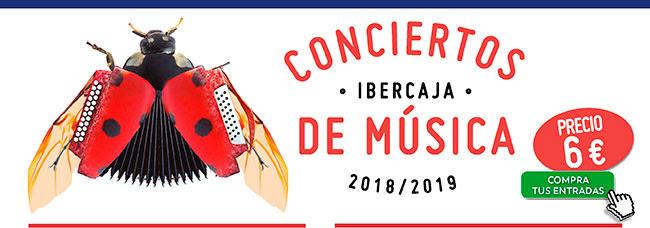 Conciertos Ibercaja de Músic. Precio 6€ . Compra tus entradas