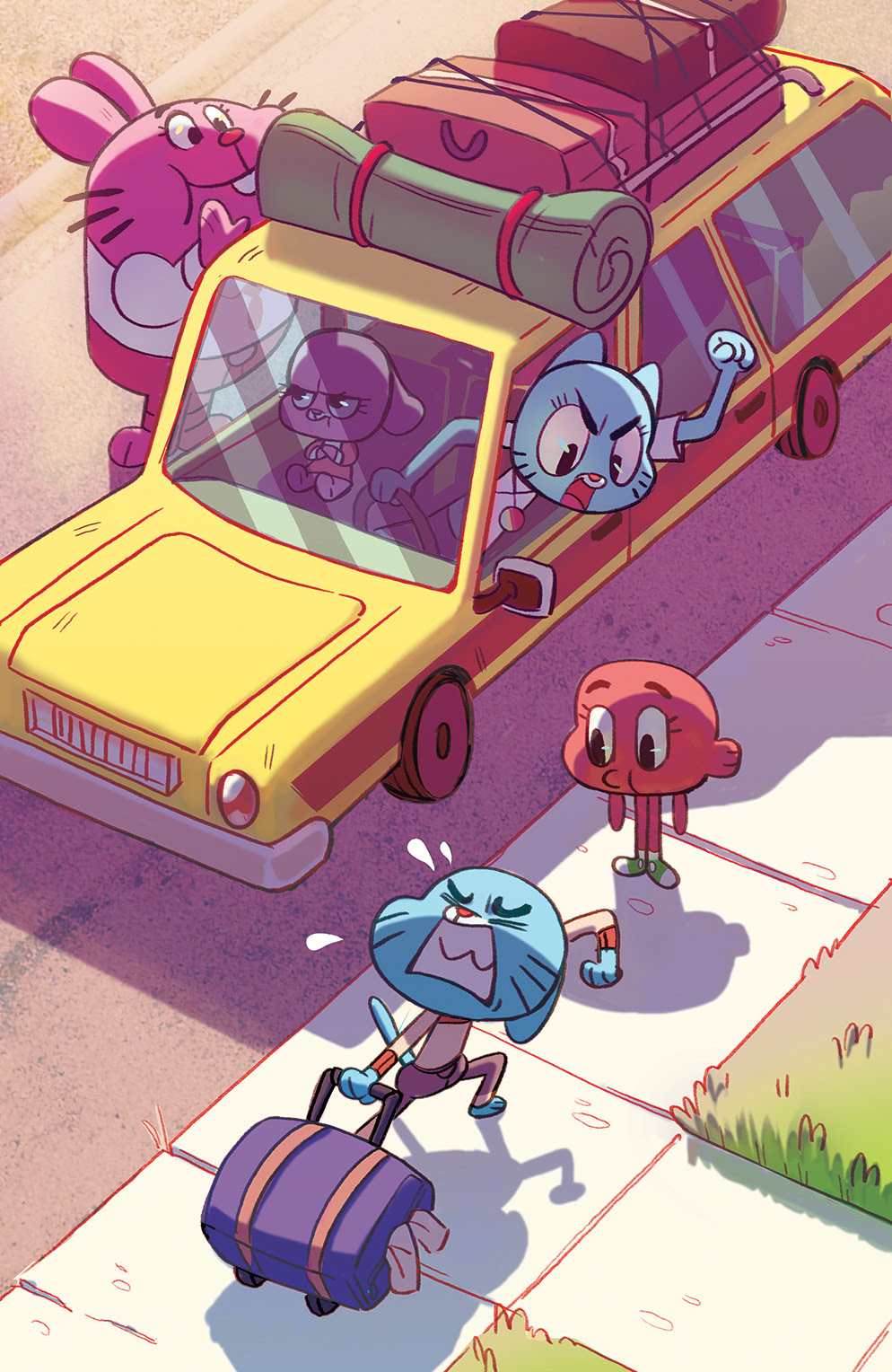 THE AMAZING WORLD OF GUMBALL #3 Cover B by Christina Chang