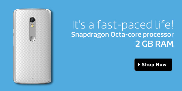 Snapdragon Octa Core Processor| 2 GB RAM