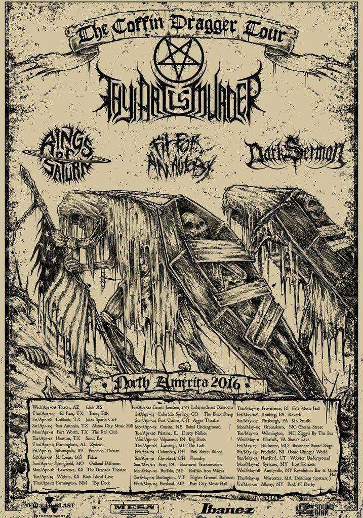 The Coffin Dragger Tour - Admat