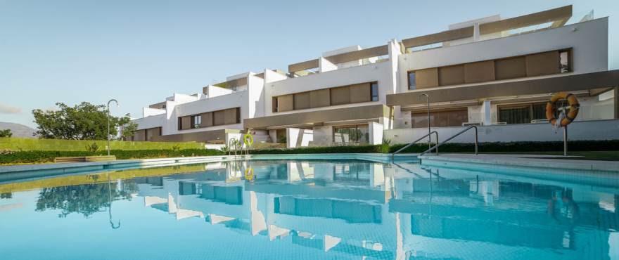 Horizon Golf: 3 bedroom townhouses for sale in La Cala Golf Resort, Mijas