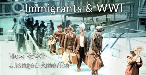 immigrant in wwi
