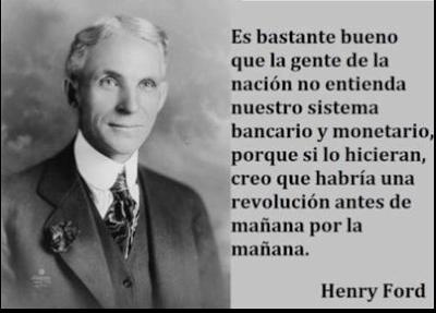 Henry Ford sincero - terrorismo economico