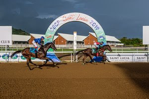 Casting Crowns takes the inaugural Pitons Cup at Royal Saint Lucia Turf Club