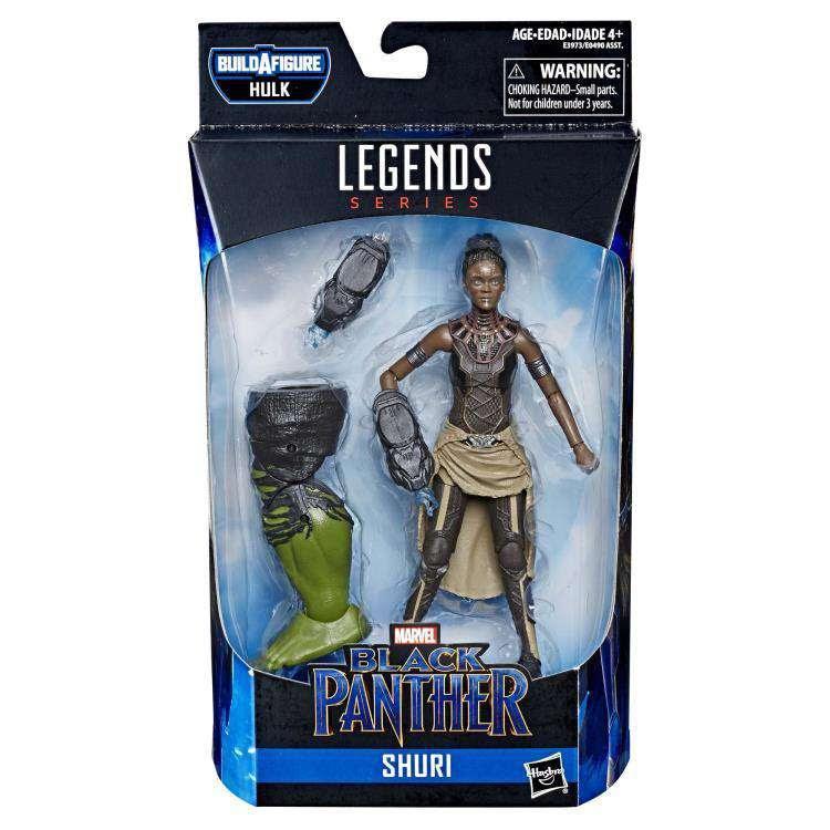 Image of Avengers: Endgame Marvel Legends Black Panther Shuri (Hulk BAF)- Wave 2