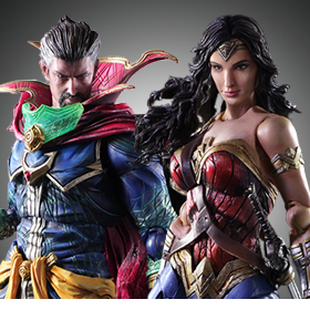 PLAY ARTS KAI - WONDER WOMAN, FINAL FANTASY, KINGDOM HEARTS