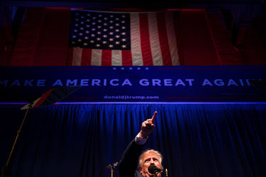 Donald J. Trump in Scranton, Pa., this week. His win foreshadowed an America more focused on its own affairs while leaving the world to take care of itself.