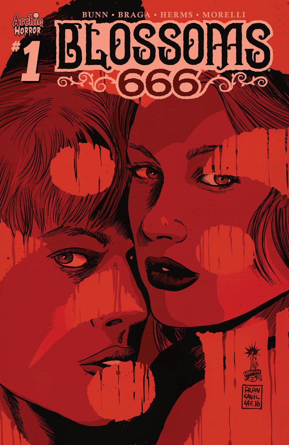 BLOSSOMS 666 #1: CVR C Francavilla