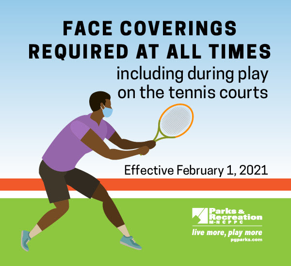 Mask Up Tennis