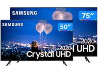 Combo Smart TV Crystal UHD 4K LED 75? Samsung
