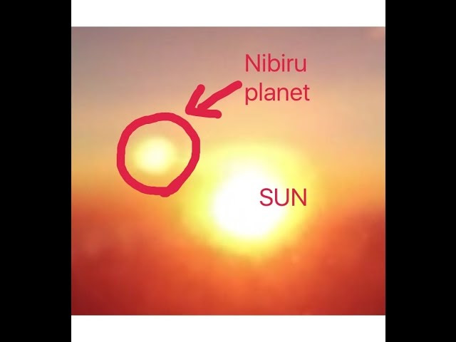 NIBIRU News ~ NIBIRU Planet Spotted above sun in sunrise from plane window plus MORE Sddefault