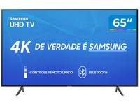 Smart TV 4K LED 65? Samsung UN65RU7100 Wi-Fi