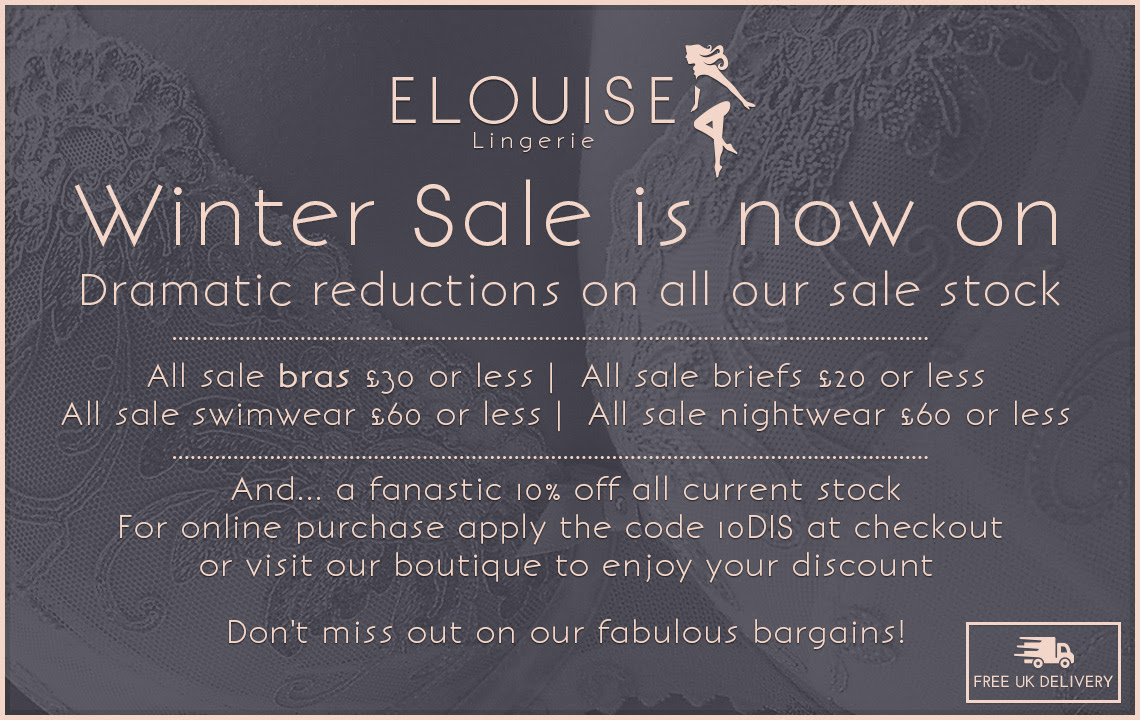 It's Christmas at Elouise Lingerie