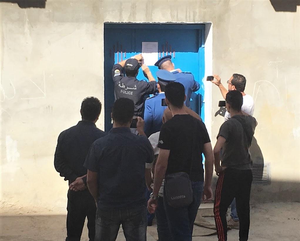 Sealing of Tafath church in Tizi-Ouzou, Algeria, Oct. 16, 2019. (Morning Star News)