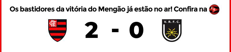 Os bastidores da vitória do mengão já estão no ar! Confira na FlaTV