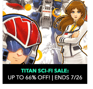 Titan Sci-Fi Sale: up to 67% off! Sale ends 7/26.