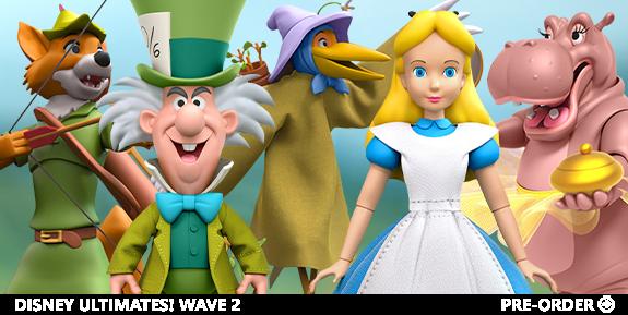 Disney Ultimates Wave 2: Alice in Wonderland, Robin Hood & Fantasia