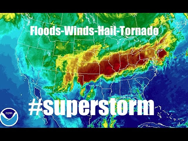 *Jaw-Dropping* Storm rapidly forms covering HALF of USA!  Sddefault