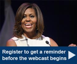 Register to get a reminder before the webcast begins