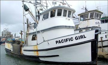 Pacific Girl trawl boat