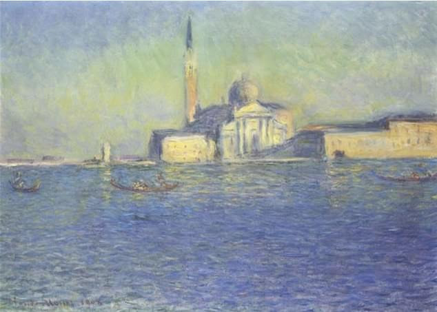 More than $200million was spent on artwork including Monet's Saint-Georges Majeur. They are fighting to recover all of the items which are dotted around the world
