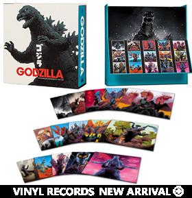 Godzilla: The Showa Era Soundtracks Vinyl 18XLP Box Set