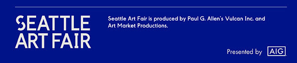 Seattle Art Fair is produced by Paul G. Allen's Vulcan and Art Market Productions.