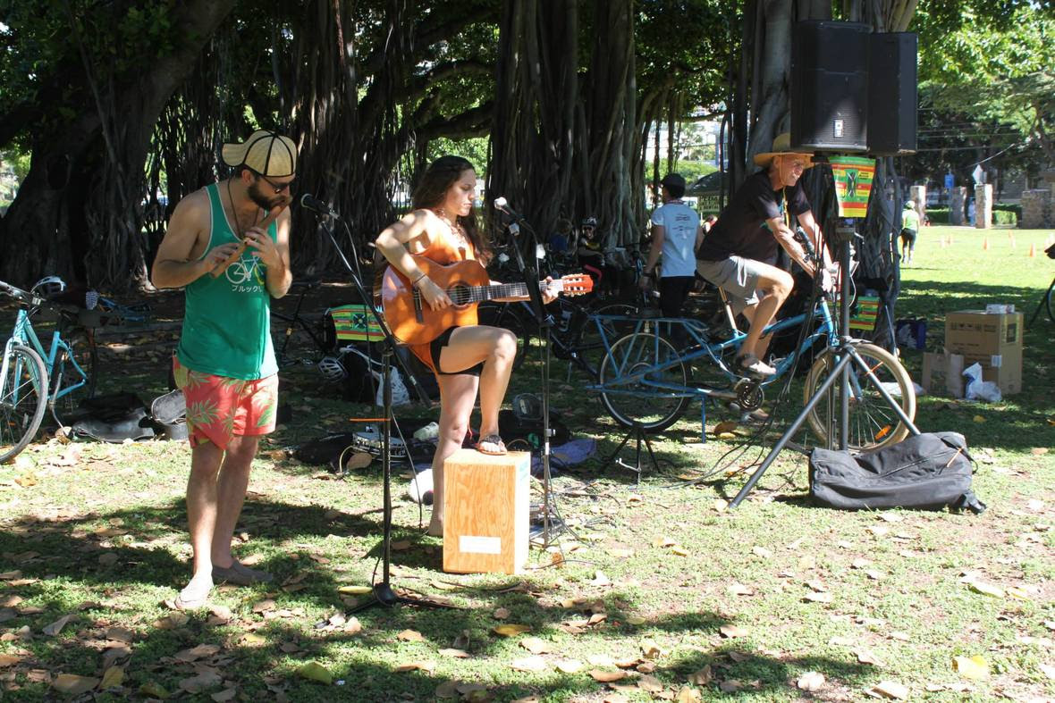 Pedal Powered Music at Thomas Square