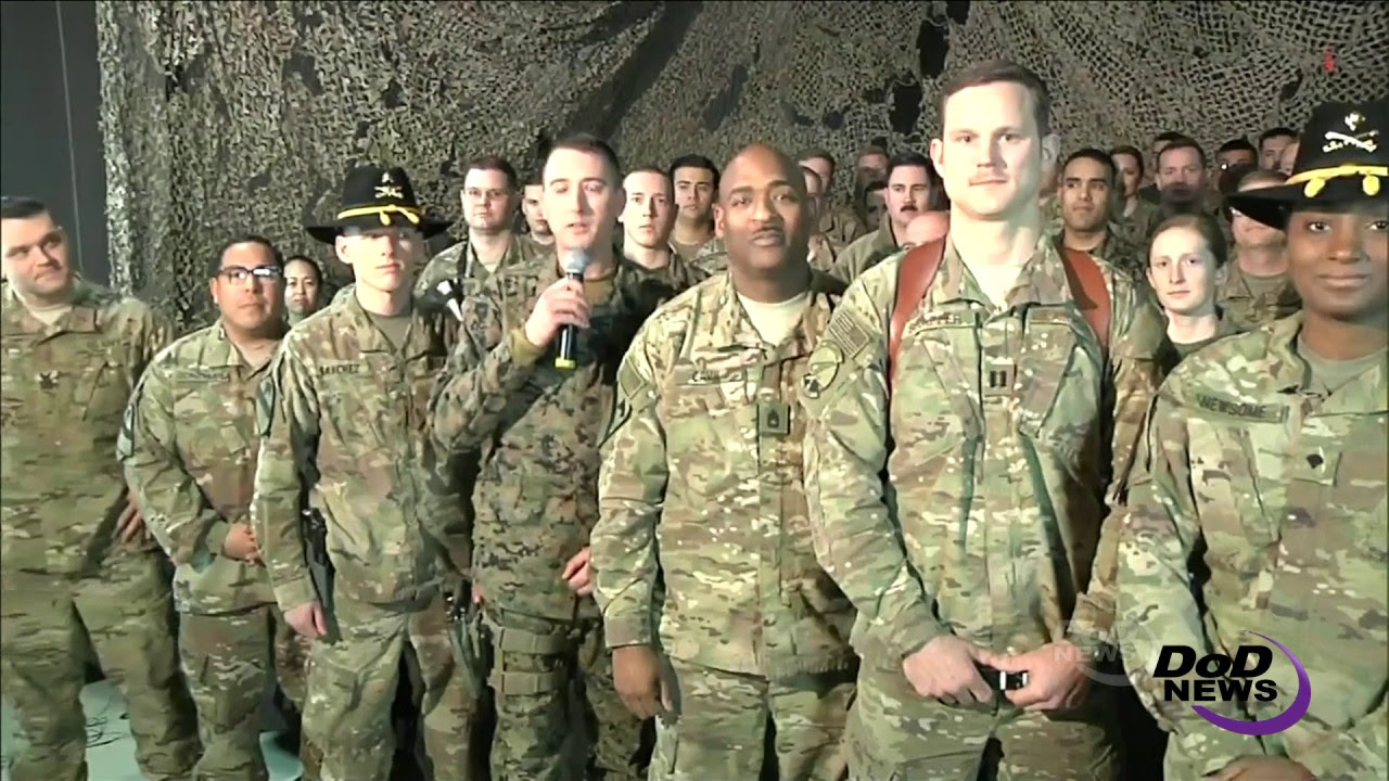 Service Members in Afghanistan Congratulate Trump