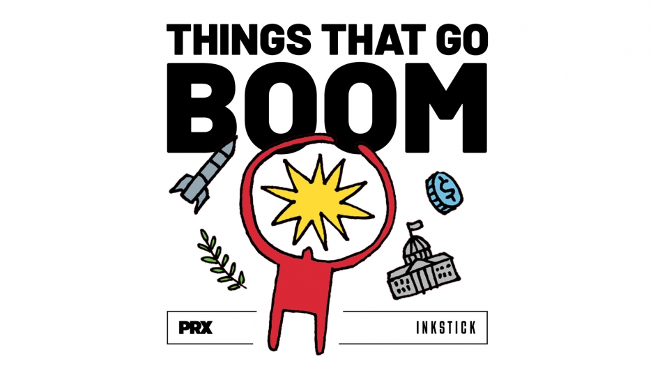 Things That Go Boom logo.