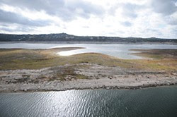 This is how Lake Travis looked on Nov. 9. It looks the same today.