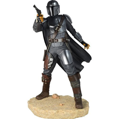 Image of Star Wars Premier Collection Mandalorian MK 3 Statue - JANUARY 2021